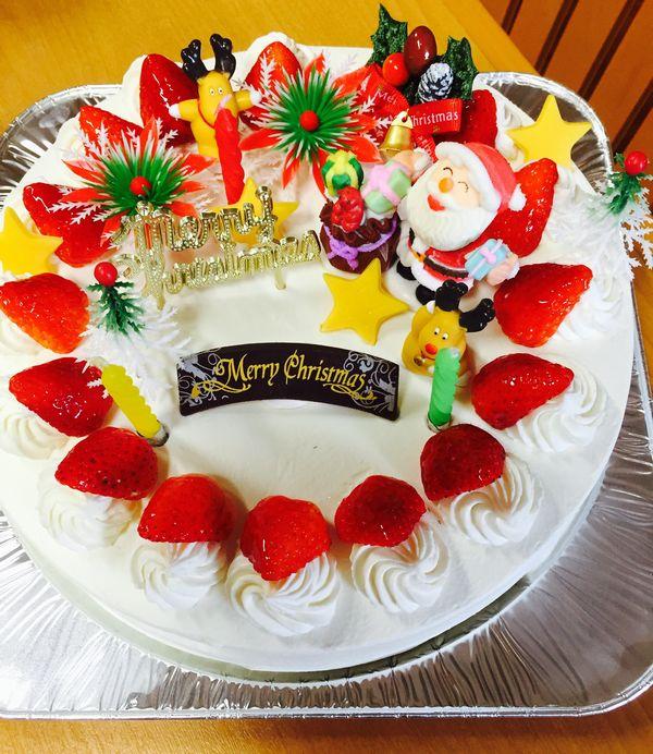 素敵なクリスマスケーキ