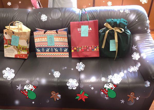 プレゼントがたくさん!