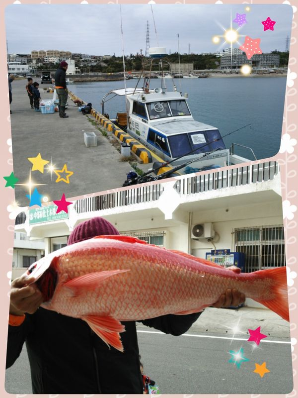 船上からの釣り