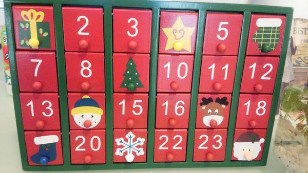 クリスマスカレンダー風引き出し